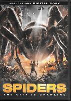 Spiders (DVD) Patrick Muldoon, Christa Campbell, William Hope, Sydney Sweeney
