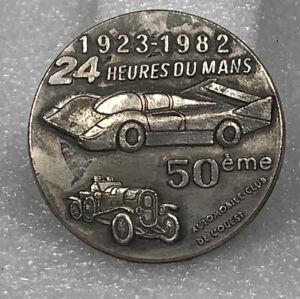 24 heures du mans- 1923-1982 50th Anniversary badge