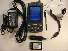 SYMBOL MOTOROLA MC7094-PKCDJRHA7WR BARCODE SCANNER GSM CELLULAR BLUETOOTH WI-FI