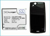 Battery for Sony Ericsson Xperia Arc, LT15a, LT15i, Li - Ion, 2500 mAh