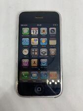 Apple iPhone 2G 1st Generation - 8GB - Black A1203 K007 READ
