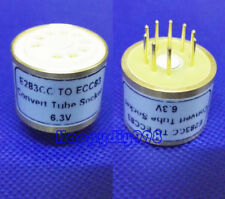 1PC E283CC ECC83 6.3V Vacuum Tube Socket konvertieren Adapter Hifi Do it yourself Teile