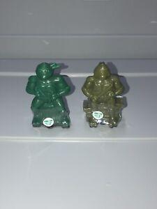 VTG TMNT Teenage Mutant Ninja Turtles Bubble Gum Candy Leo Mike 1990 Sealed MIP