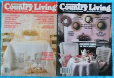 Lot of 2 Country Living Magazines 1983