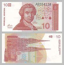 Kroatien / Croatia 10 Dinara 1991 p18a unz.