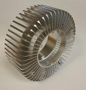 150 x 55mm Large Round Radiator Aluminium Heat Sink Cooling For LED Heatsink