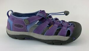 KEEN Newport Big Kids Purple Sport Sandals Sz US 7
