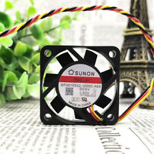 5PCS SUNON MF40100V2-1000C-A99 Cooling Fan DC 5V 0.65W 40mm x 40mm x 10mm 3 WIRE