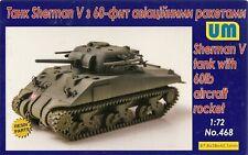 "UniModel 1/72 Sherman V ""Tulip"" with 60lb Rockets"