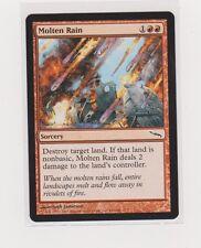 4x Molten Rain - Mirrodin  - MTG -Magic The Gathering NM, English Common Red