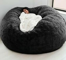 Large Bean Bag Chair Sofa Living room furniture 7ft foam giant Microsuede Chair