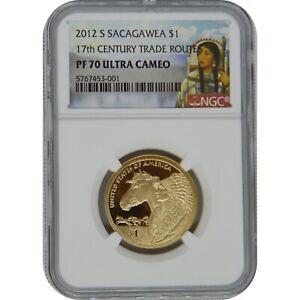 2012-S Sacagawea Proof Coin NGC PF70 Ultra Cameo Sacagawea Label