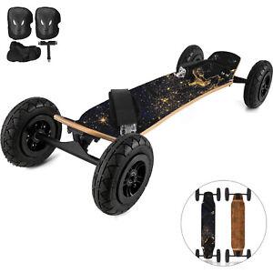 95X Mountainboard Skateboard Longboard 37x8inch Off Road Knobby Tires w/ Earth