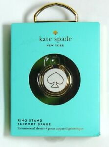 kate spade new york - Universal Stability Ring for Smart phone- Gold/Cream