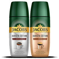 Jacobs Barista Edition Instant Coffee with Finely Ground Beans 2 x 95g 3.4oz