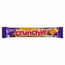 Cadbury Crunchie Chocolate Bar 48 x 40g - FREE DELIVERY