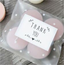 42X Thank You Sticker / Label / Cookies Bag Sealer / Wedding Party Gift Decor