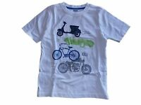 NWT Boy's Gymboree Auto Crew car white short sleeve shirt ~ 12-18 months 5T