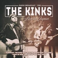 THE KINKS - LIVE IN JAPAN   CD NEU