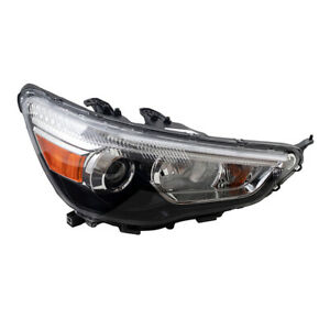 Halogen Headlight for 11-19 Mitsubishi Outlander Sport RVR Passenger Side Lamp