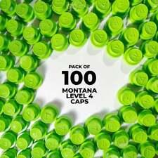 Montana Level 4 Caps - 100 Pack