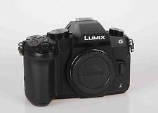 PANASONIC Lumix DMC-G81 schwarz Gehäuse - VITRINENSTÜCK - Fotohändler