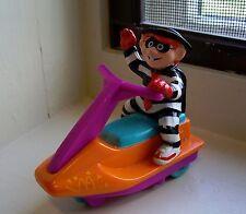 Fast Food Toy 1992 MC DONALD'S~HAMBURGLER ON A JET SKI