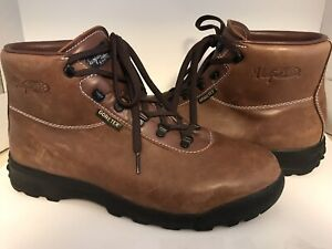 Vasque Mens Size US 13 Gore-tex Brown Leather Hiking Boots Lace Up