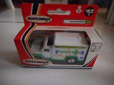 Matchbox Ambulance in White/Green in Box