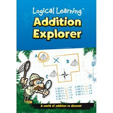 Addition Explorer Numeracy Number Logical Learning Maths Book KS1 KS2 (B053)