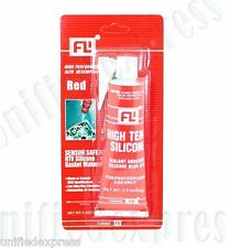 RTV Red Gasket Maker Oil&Temp Resistance Sealant Adhesive~Valve covers Oil Pans