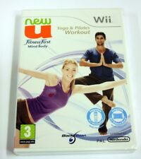 JEU Nintendo WII New U Fitness First Mind Body   neuf