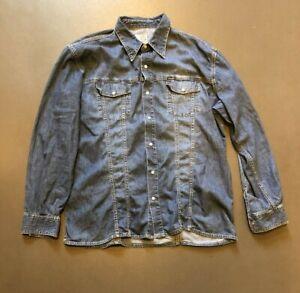 """Diesel Classic Western Denim Shirt  XL / XXL 48"""" / 50"""""""