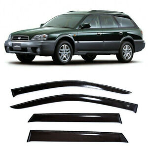 For Subaru Legacy Wagon 1998-2003 Side Window Visors Rain Guard Vent Deflectors