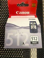 Authentique & Original Cartouche Canon PG-512 Black Neuve