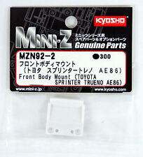 Kyosho Mini Z MZN92-2 Front Body Mount (TOYOTA SPRINTER AE86)