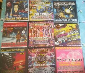 Hardcore tape packs, they are all still in good condition!