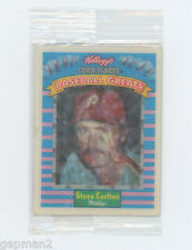Phillies Steve Carlton 1991 Kellogg's Corn Flakes Baseball Card Sportflics 8 NEW