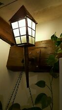 Lanterne applique cuivre faite main unique vintage offre possible