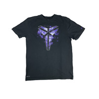 Kobe Bryant Men's Large Black Mamba Nike Shirt Purple Dri-Fit Signature Limited