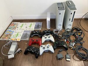 Video Game & Console Bundle 2 Working 360 Xbox One Controllers Ps3 Wii Console