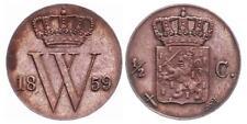 Niederlanden ½ Cent 1859 - Kursmünze