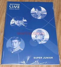 SMTOWN LIVE WORLD TOUR VI in SEOUL OFFICIAL GOODS SUPER JUNIOR SJ NOTE NEW