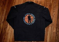 1994 R. KELLY 12 play AALIYAH jive promo crew jacket vtg 90s hip hop shirt rap