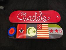Chocolate Skateboards Decks 20th Anniversary Chico Brenes Chunk Rare Collectible