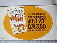 Aufkleber Sticker Camel - Qualität - Filter - Jetzt DM 3,50 - 80er RAR  (M1111)