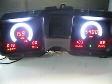1968 Chevelle DIGITAL DASH  instrument gauge cluster RED LEDs! Intellitronix