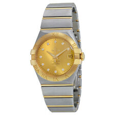 Omega Constellation Champagne Dial Unisex Watch 123.20.35.20.58.001
