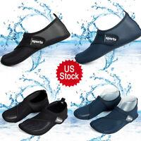 Women Men Water Shoes Non-slip Barefoot for Swim Diving Surf Aqua Sports Beach