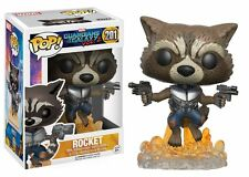 Funko Pop GOTG2 Guardians of the Galaxy Vol.2 Rocket Bobble-head Vinyl Toy #201